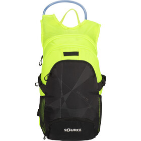 SOURCE Fuse Air Protector de pecho 3+9l, black/florescent yellow